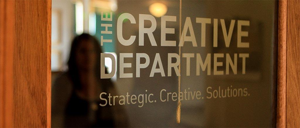 The Creative Department front door